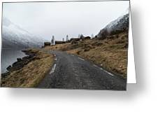 Roads Of Norway Greeting Card