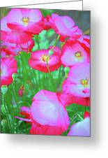 Roadside Flowers Greeting Card