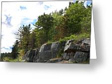 Roadside Rocks Greeting Card