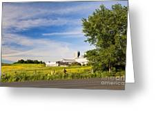 Roadside Spring Scenic Greeting Card