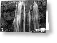 Roadside Waterfall - Ireland Greeting Card by Mike McGlothlen