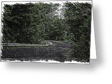 Roadway Fingers Lakes New York Area Pa 02 Greeting Card