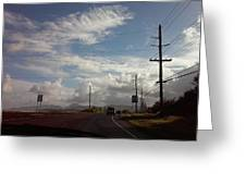 Roadway Greeting Card