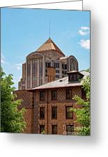 Roanoke Architecture Greeting Card