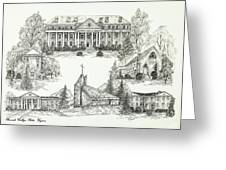 Roanoke College Greeting Card