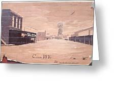 Roanoke Mural Greeting Card