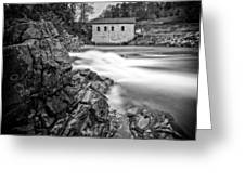 Roanoke River Flow Greeting Card