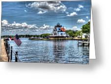 Roanoke River Lighthouse No. 2 Greeting Card