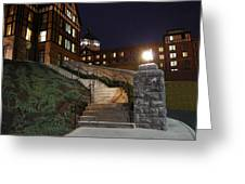 Roanoke Steps Greeting Card