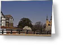 Roanoke Virginia Springtime Cityscape Greeting Card
