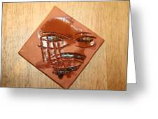 Roar - Tile Greeting Card