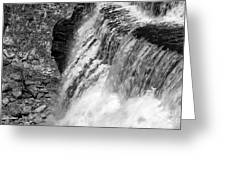 Roar Of The Falls Greeting Card