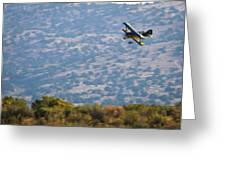 Rob Caster In Miss Diane 5x7 Aspect, Friday Morning Greeting Card