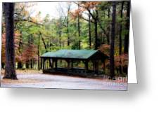 Robbers Shelter Greeting Card