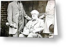 Robert E Lee Greeting Card
