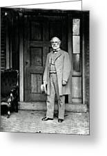 Robert E. Lee In Richmond, Virginia Greeting Card