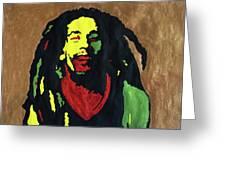 Robert Nesta Marley Greeting Card