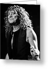 Robert Plant-0039 Greeting Card