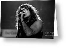 Robert Plant-0041 Greeting Card