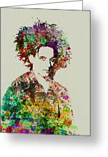 Robert Smith Cure 2 Greeting Card by Naxart Studio