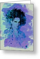 Robert Smith Cure Greeting Card