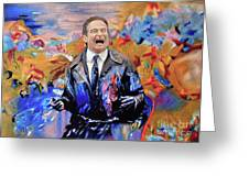 Robin Williams - What Dreams May Come Greeting Card