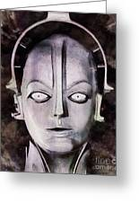 Robot From Metropolis Greeting Card