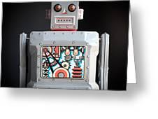 Robot R-1 Square Greeting Card