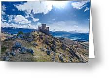 Rocca Calascio Greeting Card