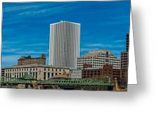 Rochester Across The River Greeting Card