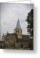 Rochester Cathedral Art Greeting Card