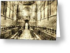 Rochester Cathedral Vintage Greeting Card