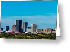 Rochester Ny Skyline Greeting Card