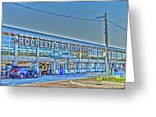 Rochester Public Market Greeting Card by William Norton
