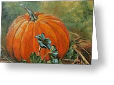 Rochester Pumpkin Greeting Card