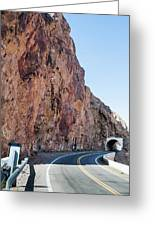 Rock And Road Greeting Card