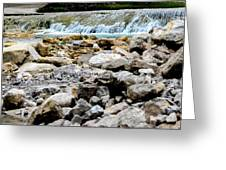 Rock Bed Greeting Card