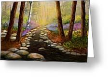 Rock Bottom Creek Greeting Card