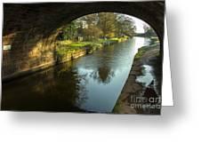 Rock Bridge Shadows  Greeting Card