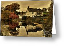 Rock Cottage Greeting Card
