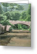 Rock Creek Bridge 5 Greeting Card