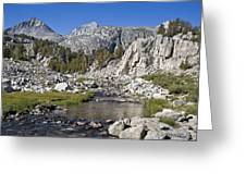 Rock Creek Hike Greeting Card