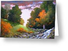 Rock Creek Greeting Card