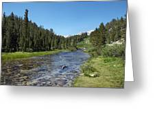 Rock Creek Greeting Card by Kenneth Hadlock