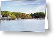 Rock Creek - Pano Greeting Card