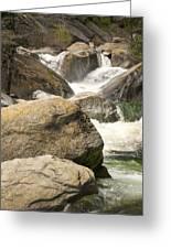 Rock Creek Snow Melt Greeting Card