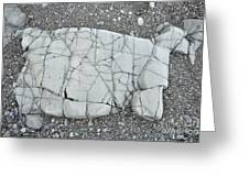 Rock Dog Greeting Card