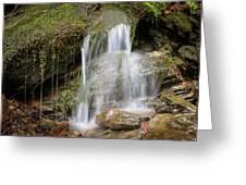 Rock Falls Greeting Card