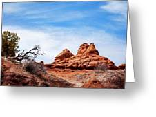 Rock Formations At Kodachrome Basin State Park, Usa Greeting Card