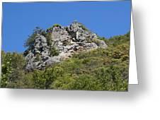Rock On Tamalpais Greeting Card